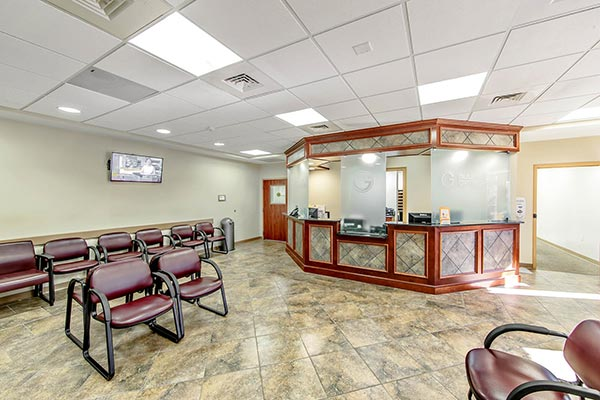 Gulf Coast Orthopedics Front Area